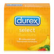 Bao cao su Durex Select (hộp 3 chiếc)