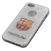 Ốp lưng kim tuyến hình câu lạc bộ cho iPhone 6 Plus