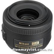 Nikon AF-S Nikkor 35mm f/1.8G DX Lens USA     Mfr# 2183