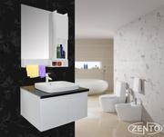Bộ tủ, chậu, kệ gương Lavabo ZT-LV910-3