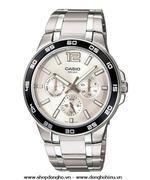 Đồng hồ nữ dây thép không gỉ Casio MTP-1300D-7A1VDF (Bạc)