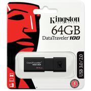 USB Kingston DataTraveler 100 G3 64GB - USB 3.0