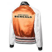 Reebok Women's Cincinnati Bengals Reversible Satin Jacket