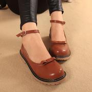 Giày nơ retro style Nhật Bản 5938