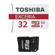 Thẻ nhớ MicroSDHC Toshiba Exceria Class 10 32GB và 1 Adapter thẻ nhớ MicroSD
