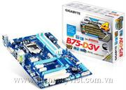 Main board GIGABYTE GA B75-D3V - Intel B75 chipset - Socket LGA 1155