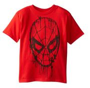 Spiderman Little Boys Web Head Drips Tee
