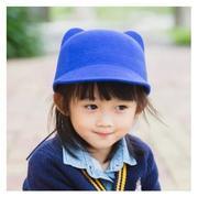 Mũ dạ kiểu Hàn Quốc thu đông cho bé