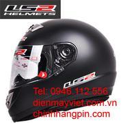 Mũ bảo hiểm chất lượng cao LS2-398, chống chói, chống đọng nước, sương mù tiêu chuẩn Mỹ, châu Âu