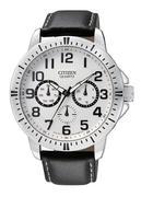 Đồng hồ nam dây da Citizen AG8310-08A (đen)