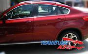 Nẹp chân kính, nẹp inox viền khung kính cho BMW X6