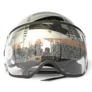 Mũ bảo hiểm ANDES Haly 180B tem (Xám có chữ ANDES)