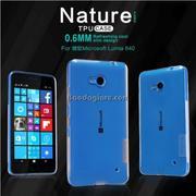 Ốp lưng MicroSoft Lumia 640 Nillkin Nature dẻo trong suốt
