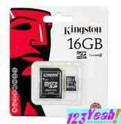 Thẻ nhớ điện thoại  MSD Kingston 16GB(msd16g)