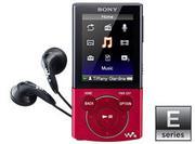 MÁY NGHE NHẠC VIDEO MP3 WALKMAN SONY NWZ-E443, 4GB ( MÀU HỒNG, ĐỎ, TÍM, ĐEN)