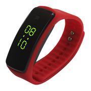 Vòng đeo LED thể thao dây nhựa thế hệ 2 (Đỏ)