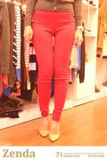 Quần Legging STRAW màu đỏ