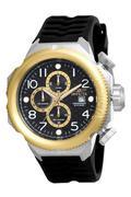 Đồng hồ nam dây Silicon Invicta 17170 (Đen)