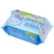 Giấy ướt nước tinh khiết 99,9% Hello Kitty SS232 80 tờ x 3 gói-4903320482326