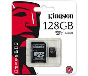 Thẻ nhớ Kingston Micro SDXC 128GB class 10, UHS-I, 45MB/s