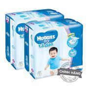 Bộ 2 Tã-bỉm dán Huggies Dry XL62