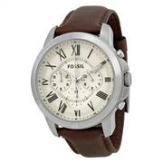 Đồng hồ nam Fossil FS4735 Grant Brown Leather Watch