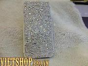 Bao da đính đá pha lê i iPhone5/5s