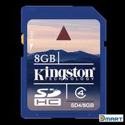 Thẻ nhớ SD Kingston Security Digital Card 8GB