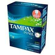 BĂNG VỆ SINH TAMPAX PEARL PLASTIC - SUPER SCENTED (18 TAMPONS)