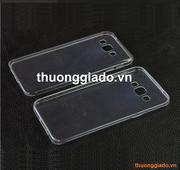 Ốp lưng silicone siêu mỏng trong suốt Samsung Galaxy A8 Ultra thin soft case