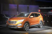 Hyundai Santa Fe 2013 - đổi mới toàn diện