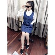 Váy yếm jeans cài nút - GS170 - DK2481