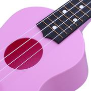 Professional 21\ Acoustic Ukulele Musical Instrument High Quality(pink) (Intl)