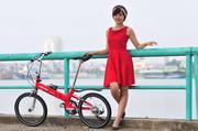 Xe đạp gấp Leisure STB