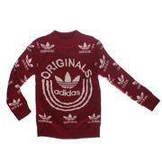 Áo dài len Adidas in Originals 9012