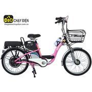 Xe đạp điện Bmx khung sơn 22 inch (Hồng)