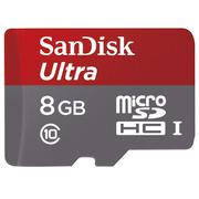 Thẻ nhớ MicroSDHC Sandisk Class10 48MB/s 8GB (Đen)
