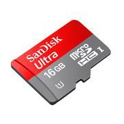 Thẻ nhớ MicroSDHC Sandisk class 10 30MB/S 16GB (Đen)