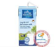 Sữa tươi Oldenburger của Đức full cream  200ml -lốc 4 hộp