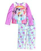 Purple & Blue My Little Pony Pajama Set - Girls My Little Pony
