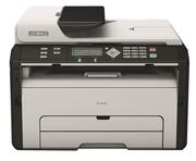 Ricoh SP 203SFN, In, Scan, Copy, Fax, Network, Laser trắng đen