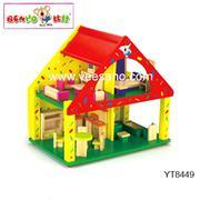 Ngôi nhà búp bê màu sắc Benho - YT8449