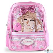 Balo Minmie màu hồng cho bé gái - MM-269-8BM-01