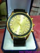 Đồng hồ dây da mặt gợn sóng phong cách nổi bật DHNN88
