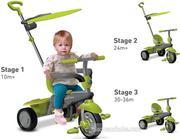 Xe đạp cảm ứng Smart Trike Carnival 3 in 1 6190700 (xanh) (DH)