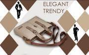Túi xách da nam Trendy hàng xuất khẩu cao cấp