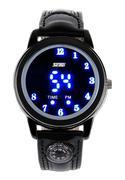 Đồng hồ điện tử nam Retro Style màu đen Skmei