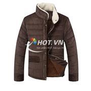 Áo khoác nhung lót lông dành cho nam TS3366