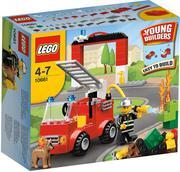 Đồ chơi LEGO 10661  Fireman_action bộ lắp ráp chủ đề cứu hỏa