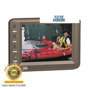 Tote Vision LCD-501 5-Inch Portable LCD Monitor with NTSC/PAL Auto Switching, Stereo Audio Input an